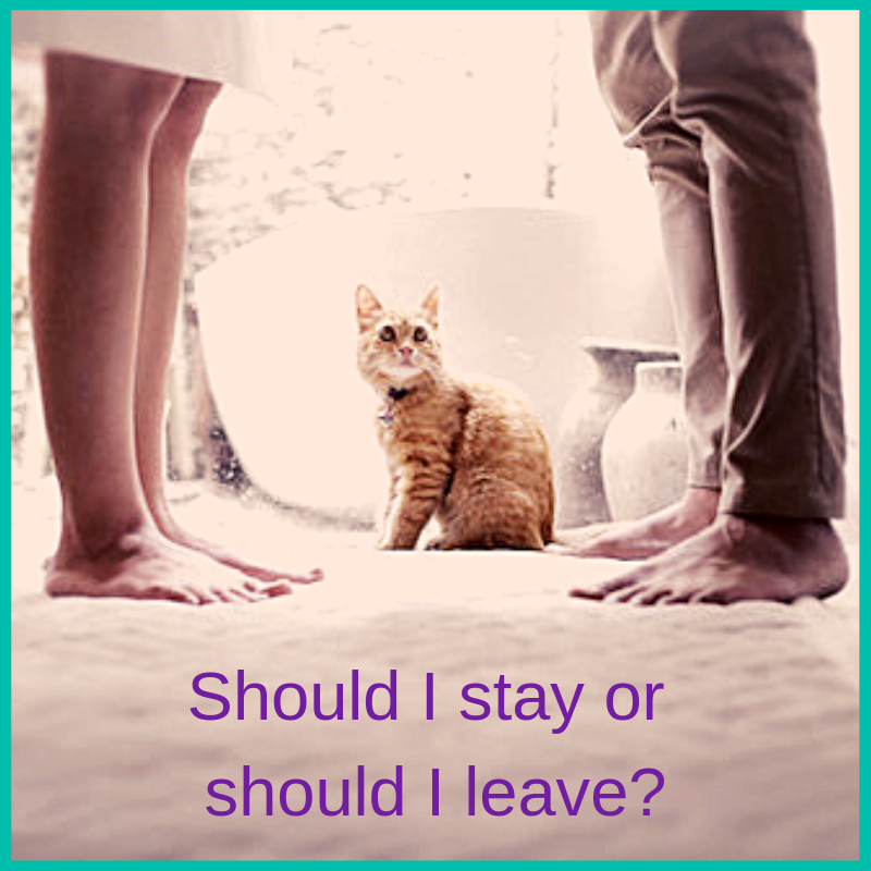 should I stay or should I leave my relationship